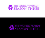 """The Synergy Project"" and place the word ""season three"" underneath in smaller front either as "" season 3"" or ""season three"" Logo - Entry #11"