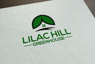 Lilac Hill Greenhouse Logo - Entry #135
