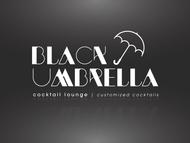 Black umbrella coffee & cocktail lounge Logo - Entry #175