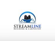 STREAMLINE building & carpentry Logo - Entry #48