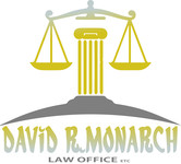 Law Offices of David R. Monarch Logo - Entry #238