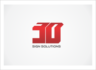 3D Sign Solutions Logo - Entry #68