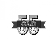"""""""OLD 55"""" - mid-century vintage furniture and wares store Logo - Entry #56"""