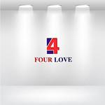 Four love Logo - Entry #225