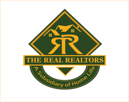 The Real Realtors Logo - Entry #166