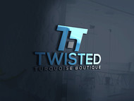 Twisted Turquoise Boutique Logo - Entry #145