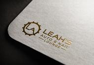 Leah's auto & nail lounge Logo - Entry #107
