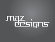 Maz Designs Logo - Entry #295