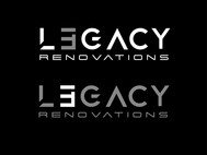 LEGACY RENOVATIONS Logo - Entry #61
