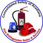 Consolidated Safety of Acadiana / Fire Extinguisher Sales & Service Logo - Entry #166