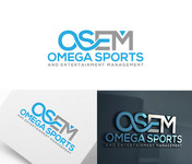 Omega Sports and Entertainment Management (OSEM) Logo - Entry #65