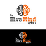 The Hive Mind Apiary Logo - Entry #18