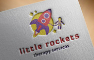 Little Rockets Therapy Services Logo - Entry #21