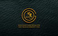 Golden Oak Wealth Management Logo - Entry #64
