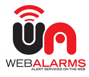 Logo for WebAlarms - Alert services on the web - Entry #54