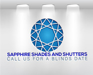 Sapphire Shades and Shutters Logo - Entry #92