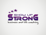 SHOW UP STRONG  Logo - Entry #26