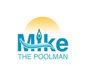Mike the Poolman  Logo - Entry #158