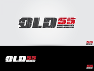 """""""OLD 55"""" - mid-century vintage furniture and wares store Logo - Entry #13"""