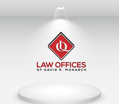 Law Offices of David R. Monarch Logo - Entry #148
