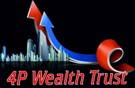4P Wealth Trust Logo - Entry #157