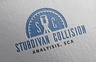 Sturdivan Collision Analyisis.  SCA Logo - Entry #123