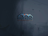 Mast Metal Roofing Logo - Entry #13