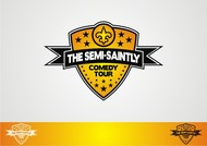 The Semi-Saintly Comedy Tour Logo - Entry #28