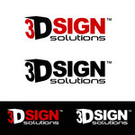 3D Sign Solutions Logo - Entry #105