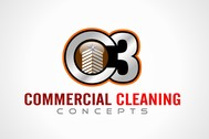 Commercial Cleaning Concepts Logo - Entry #92
