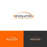 Revolution Roofing Logo - Entry #233