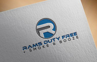 Rams Duty Free + Smoke & Booze Logo - Entry #165
