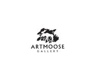 ArtMoose Gallery Logo - Entry #17
