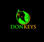 DONKEYS Logo - Entry #4