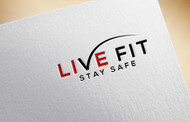 Live Fit Stay Safe Logo - Entry #196