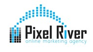 Pixel River Logo - Online Marketing Agency - Entry #99