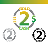Gold2Cash Business Logo - Entry #3