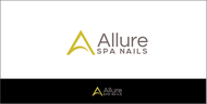 Allure Spa Nails Logo - Entry #75