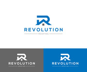 Revolution Roofing Logo - Entry #495