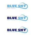 Blue Sky Life Plans Logo - Entry #347