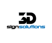 3D Sign Solutions Logo - Entry #186