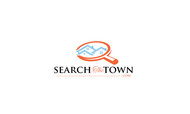 search the town .com     or     djsheil.com Logo - Entry #86