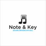 Note & Key Logo - Entry #40