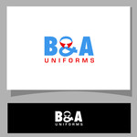B&A Uniforms Logo - Entry #66
