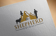 Shepherd Drywall Logo - Entry #246