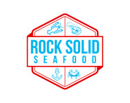 Rock Solid Seafood Logo - Entry #72