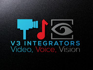 V3 Integrators Logo - Entry #177