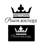 Either Midtown Pawn Boutique or just Pawn Boutique Logo - Entry #82