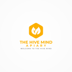 The Hive Mind Apiary Logo - Entry #116