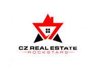 CZ Real Estate Rockstars Logo - Entry #186